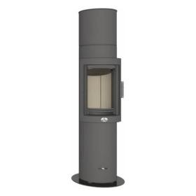 Kaminofen Max Blank ORANGE SP 5,8kW drehbar