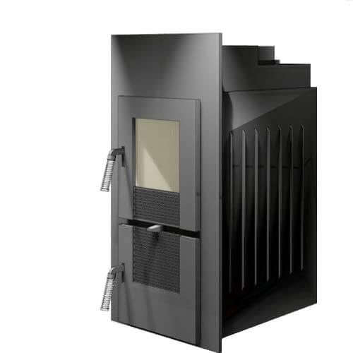 Kachelofeneinsatz LEDA Rubin K17, 7 kW