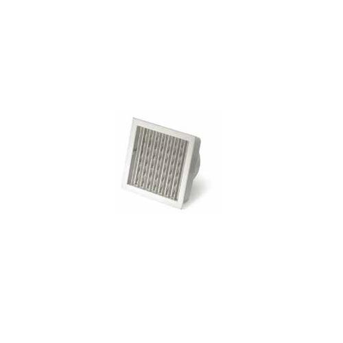 Kaminzubehör MCZ - Quadratischer Auslass mit Verschluss und Anschluss Ø15cm PLASMA/FORMA/VIVO