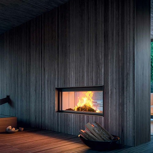 Kamineinsatz MCZ PLASMA 115B Wood 12,6kW