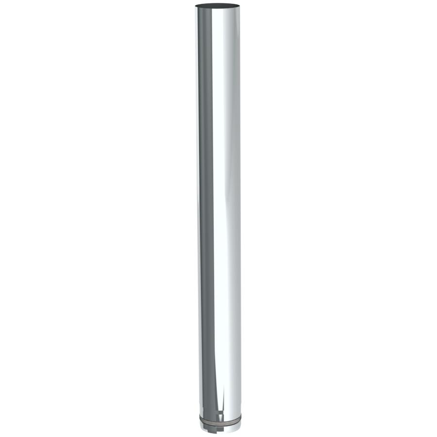 Pelletofenrohr - Längenelement 1000 mm - unlackiert - Jeremias Pellet-Line