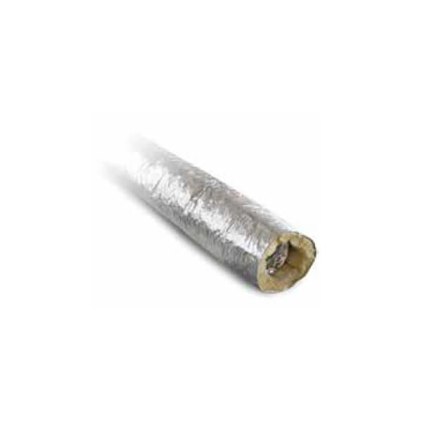 Pelletofenzubehör MCZ - Isoliertes Flex- Rohr, Ø 60mm innen/ Ø 110mm außen, 3m Länge