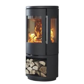 Kaminofen Morsoe 7443 4,3 kW mit Holzfach